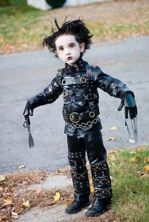 Costumul de Halloween Edward, omul foarfeca